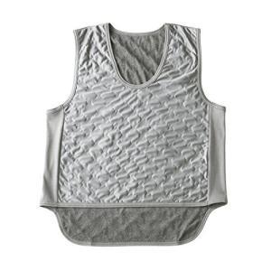 吸湿発熱繊維 保温ベスト グレー M~L sanmaruroku