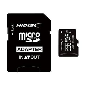 HIDISC microSDXCメモリカード 256GB Class10 UHS-I HDMCSDX256GCL10UIJP3|sanmaruroku