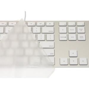 キーボードカバー・Pure Touch Key Protector #101 for Apple Keyboard (テンキー付き-JIS-US) / PTKP101|sanmaruroku