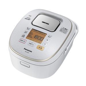 パナソニック 炊飯器 5.5合 IH式 大火力おどり炊き スノーホワイト SR-HX107-W