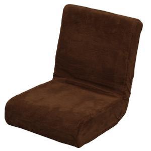 アイリスオーヤマ 座椅子 & 枕 2way ふわふわ フロアチェア コンパクト 折りたたみ 収納 ブラウン ZC-9 sanmaruroku