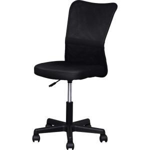 アイリスプラザ オフィスチェア メッシュ 通気性抜群 腰サポートバー 昇降機能付き 360度回転 ブラック sanmaruroku