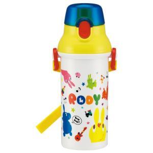 直飲み 水筒 プラワンタッチボトル 480ml ロディ スケッチ PSB5SAN