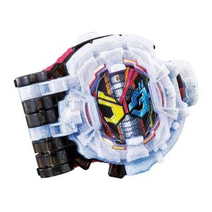 仮面ライダージオウトリニティに変身するためのライドウォッチ。 リューズを回すとジオウ、ゲイツ、ウォズ...