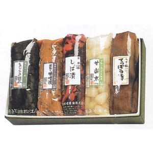 薄味で漬けた「てっぽう漬」、甘く食べやすくした 「甘楽京」、代表的な赤しばの「しば漬」、 辛口の「越...