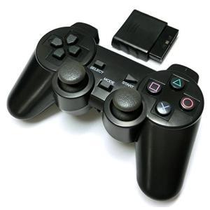 PS2 ワイヤレスコントローラー (プレステ2で使える2.4Ghz無線コントローラー)|sanosyoten
