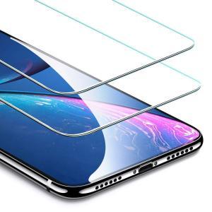 ?iPhone XR 専用 iPhone XRの曲面エッジによるフィルムの剥がれ・浮き防止、またスマ...