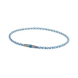 ファイテン(phiten) ネックレス RAKUWA ネックX50 ハイエンドIII ブルー 50cm|sanosyoten