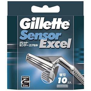 ジレット センサーエクセル 髭剃り 替刃 10個入 定番|sanosyoten