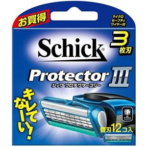 シック Schick プロテクタースリー 3枚刃 替刃 (12コ入) 定番