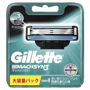 ジレット 髭剃り マッハシンスリー 替刃8個入 定番 sanosyoten