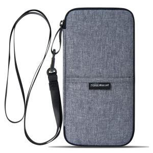 型番:EV-077 【収納力抜群】海外旅行や出張の必要な収納便利バッグ。軽量薄型でポケットも多く収納...