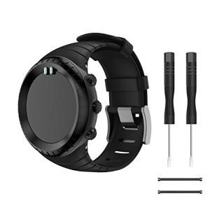 Compatible SUUNTO core ベルト,YAYUU SUUNTO(スント) Coreコア専用 ソフト 高級 TPU製腕時計ストラップ/バンド 交換ベルト|sanosyoten