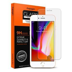 Spigen スマホ ガラスフィルム iPhone8 Plus / iPhone7 Plus 対応 ...
