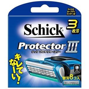 シック Schick プロテクタースリー 3枚刃 替刃 8個 定番|sanosyoten
