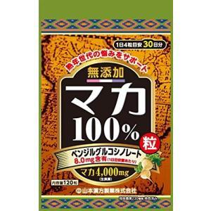 山本漢方製薬 マカ粒100% 120粒|sanosyoten
