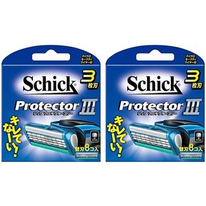 2個セット シック Schick プロテクタースリー 3枚刃  替刃 8個 定番|sanosyoten