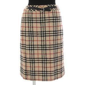 スカート  程度:B サイズ:38 色:ベージュ  :KNeN