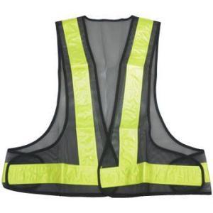 安全ベスト 黒+黄(テープ) KF-019-Bダークブルー/銀色(テープ)イエロー/黄色(テープ) 3カラー 反射ベスト 夜行ベスト 安全チョッキ|sanpouyosi-store