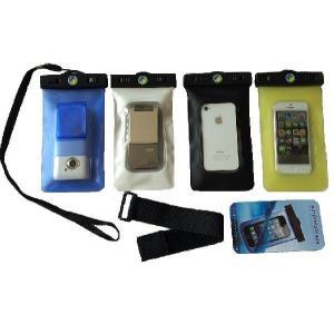 高品質 水深20M【スマートフォン 防水ケース 】iPhone5s/5c/iPhone4s/スマートフォン用 防水ケース 両面窓 ストラップ付 スマホケース 防水 カバー|sanpouyosi-store