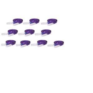 スリングベルト ベルト幅25mm 全長3m10pcsセット//耐久性に優れているポリエステル強力原糸100% ナイロンスリング ベルトスリング|sanpouyosi-store