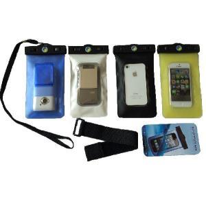 高品質 水深20M【スマートフォン 防水ケース 】iPhone5s/5c/iPhone4s/スマートフォン用 防水ケース 両面窓 ストラップ付 ★|sanpouyosi-store