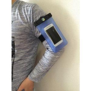 高品質 水深20M【スマートフォン 防水ケース 】iPhone5s/5c/iPhone4s/スマートフォン用 防水ケース 両面窓 ストラップ付 ★|sanpouyosi-store|03