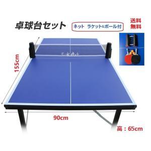 折りたたみ 卓球台 折り畳み卓球テーブル 固定式 ファミリー卓球台 専用ネット付 家庭用 折り畳み式卓球台 ピンポン台 ピンポン、卓球ネット ピンポンセット
