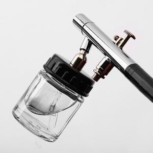 【あす楽対応】【三方良し】ガラスカップタイプエアーブラシ ダブルアクショントリガー ノズル0.3mm|sanpouyosi-store