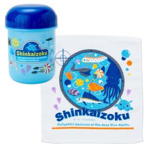 シンカイゾク おしぼり&ケース(バブル)|sanrio