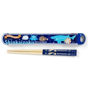 シンカイゾク 箸&ケース(ロゴ)|sanrio