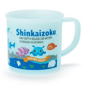 シンカイゾク プラカップ(ロゴ)|sanrio