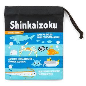 シンカイゾク プラカップ袋(ロゴ)|sanrio