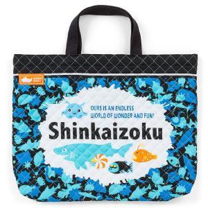 シンカイゾク キルティング手提げバッグ(ロゴ)|sanrio