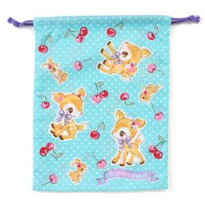 ハミングミント 巾着M(チェリー)|sanrio