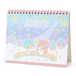 リトルツインスターズ リングカレンダー 2018 sanrio