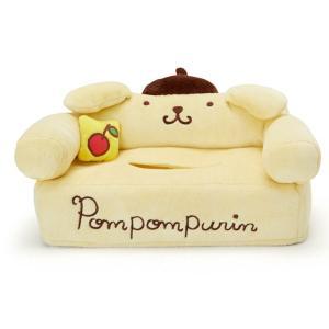 ポムポムプリン ソファ形ティシュボックスケース|sanrio