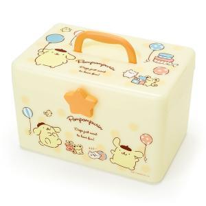ポムポムプリン 持ち手つき整理ボックス|sanrio