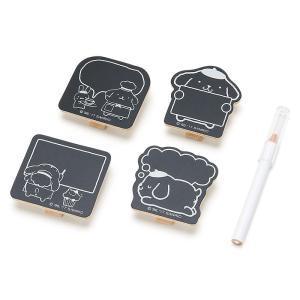 ポムポムプリン 木製クリップセット(スイーツショップ)|sanrio