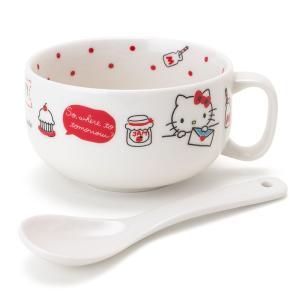 ハローキティ スプーン付きスープマグカップ|sanrio