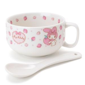 マイメロディ スプーン付きスープマグカップ|sanrio