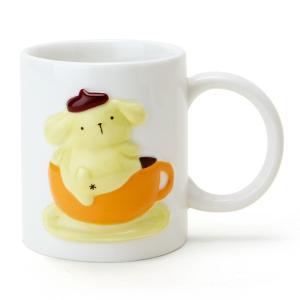 ポムポムプリン レリーフマグカップ|sanrio
