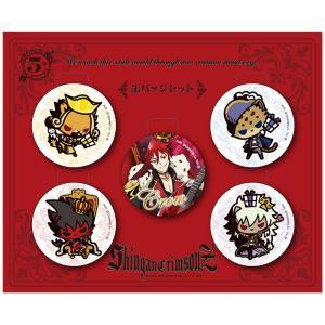 SHOW BY ROCK!! 缶バッジセット(シンガンクリムゾンズ-クロウ聖誕祭-)|sanrio