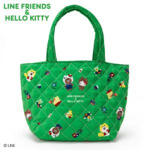 LINE FRIENDS & ハローキティ ミニ手提げバッグ入りお菓子セット sanrio