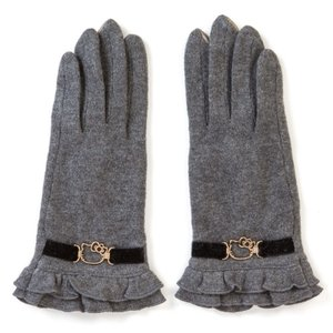 ハローキティ スマホ手袋(グレー)|sanrio