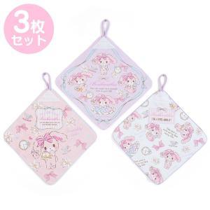 ぼんぼんりぼん ループ付きハンドタオル3枚セット(ケーキ)|sanrio