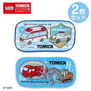 トミカ×ザ ラナバウツ ハーフプチタオル2枚セット(ワッペン)|sanrio