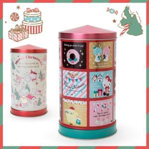 サンリオキャラクターズ オルゴール缶入りクッキー(クリスマス2017) sanrio