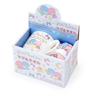 リトルツインスターズ マグ&プチタオルセット sanrio