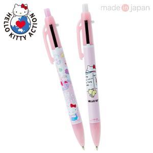 ハローキティ 2色ボールペン&シャープペン(HELLO KITTY ACTION -MEET HELLO KITTY'S WORLD-)|sanrio